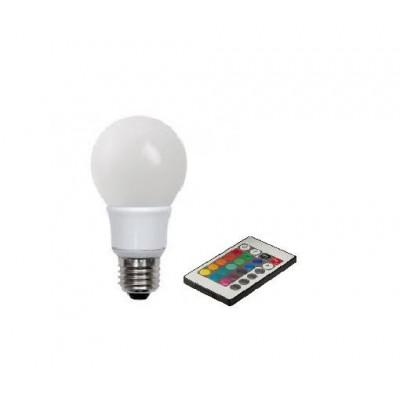 Żarówka E27 5W RGB