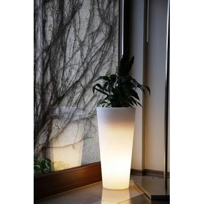 Donica Venus 70cm LED - świecąca na biało