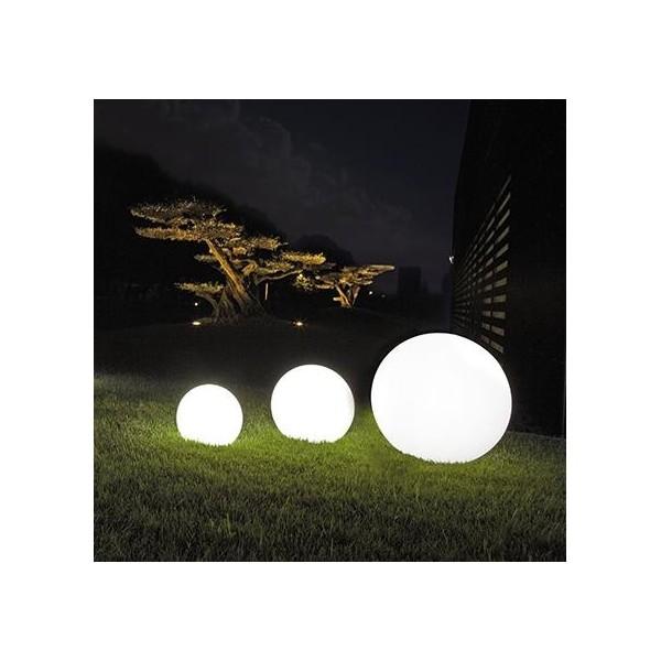 Zestaw kul świecących w kolorze białym