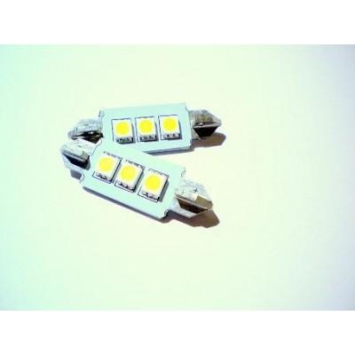 Żarówka samochodowa LED 3 diody