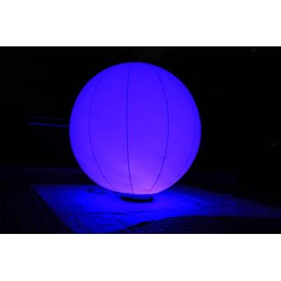Balon sfertyczny LED z podstawą