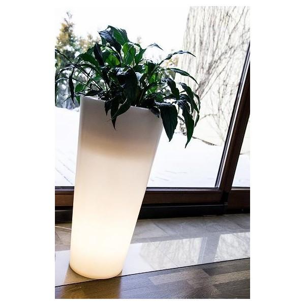 Donica VENUS  LED - świecąca 91cm