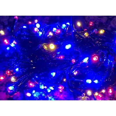 Lampki choinkowe 200 LED - MULTIKOLOR