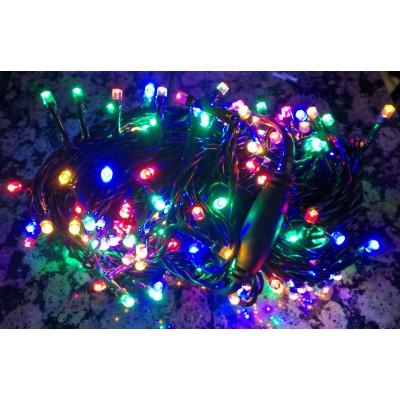 Lampki choinkowe 300 LED - MULTIKOLOR HERMETYCZNE