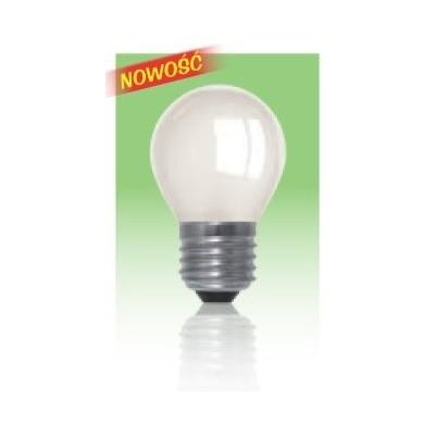 Żarówka LED  E27 1W kulka - biała zimna