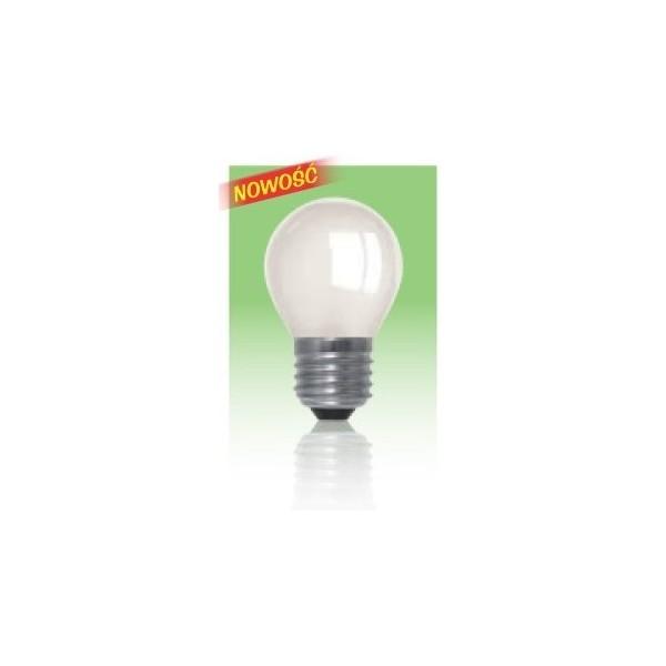 Żarówka LED  E27 1W - biała ciepła.