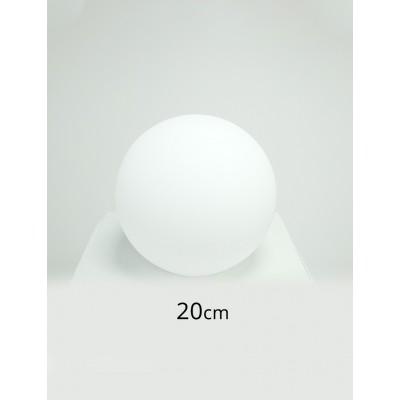 Zestaw 5 kul świecących na kolorowo 20cm