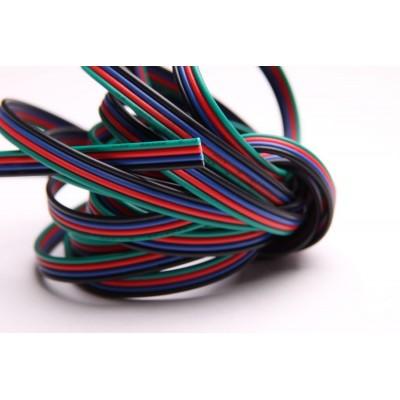 Przewód 4-żyłowy RGB 1m
