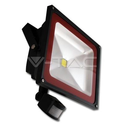 Naświetlacz LED 50W  z czujnikiem ruchu