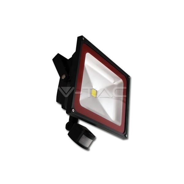 Naświetlacz LED 50W  PIR