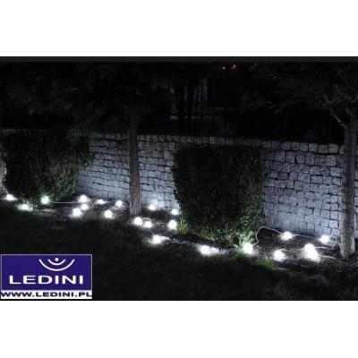 Ogrodowe kule LED do podświetlenia ogrodów, świecąca girlanda - SZNUR 40szt