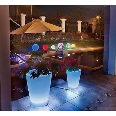 Świecące donice LED