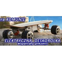deskorolka elektryczna dwukołowce