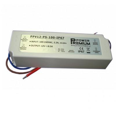 12. Zasilacz LED 100W IP67