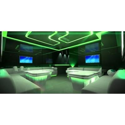 Oświetlenie sufitowe RGB 450led 15mb