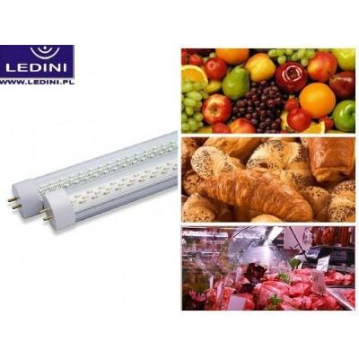 """Świetlówka """"WARZYWA I OWOCE"""" - LED T8 do profesjonalnego podświetlania ekspozycji warzyw i owoców."""