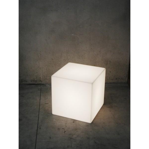 Świecąca pufa, kostka LED 40cm