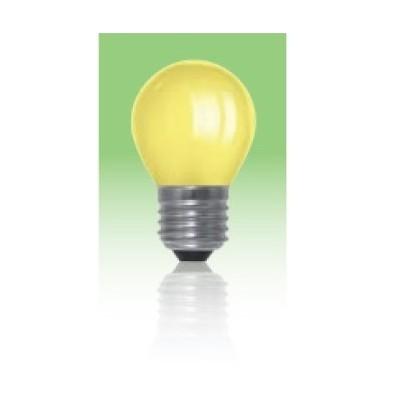 Żarówka LED  E27 1W kulka - żółta