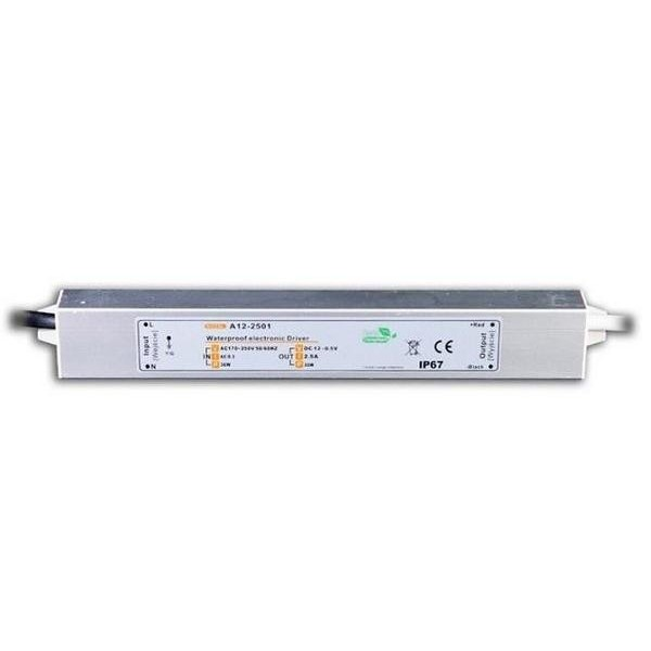Zasilacz LED impulsowy / 30W/ IP67