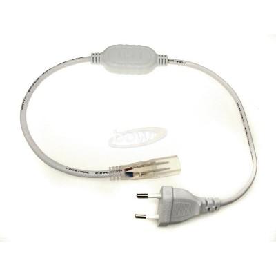 Kabel  z wtyczką do taśm na 230V