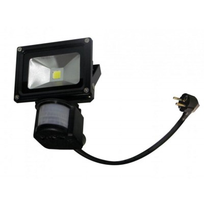 Naświetlacz LED 10 W z czujnikiem ruchu