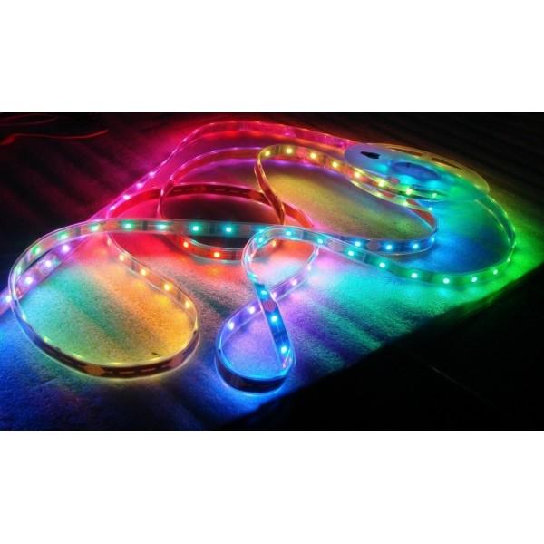 Taśma led RGB Magic - efekt płynięcia światła
